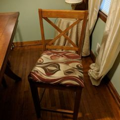 Reupholster Dining Chairs Plastic Folding Wholesale How To A Chair Seat: 14 Steps (with Pictures)