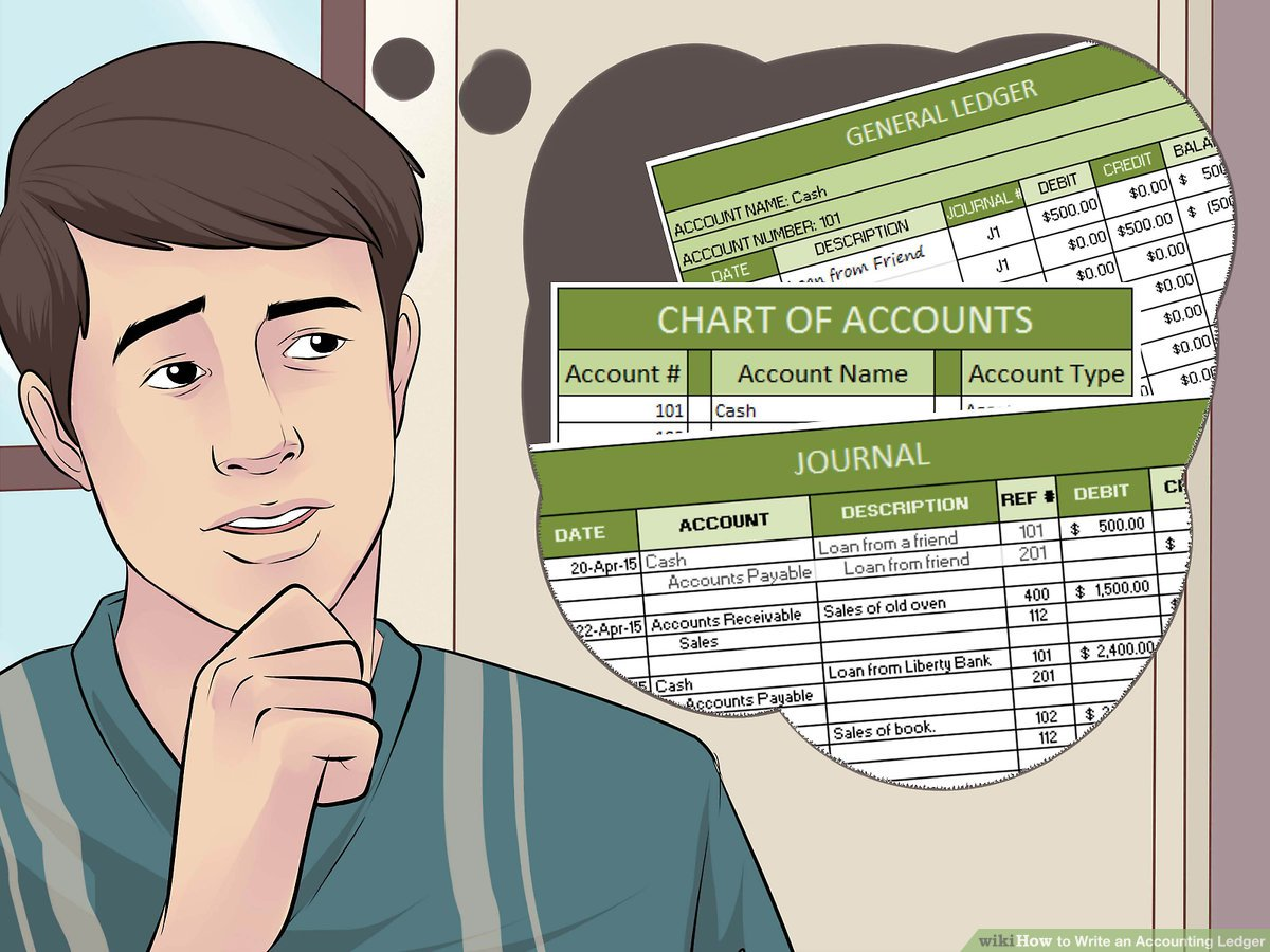 hight resolution of How to Write an Accounting Ledger (with Pictures) - wikiHow