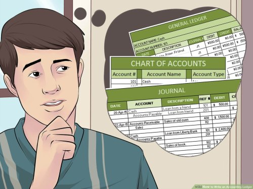 small resolution of How to Write an Accounting Ledger (with Pictures) - wikiHow