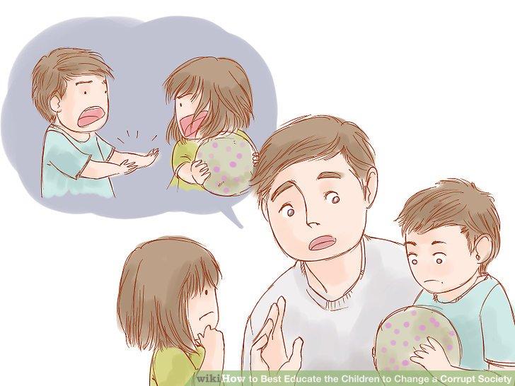 Bringen Sie Ihrem Kind bei, dass Lügen falsch ist.