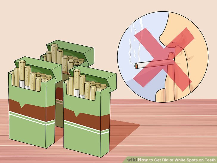 Avoid tobacco products and caffeine.