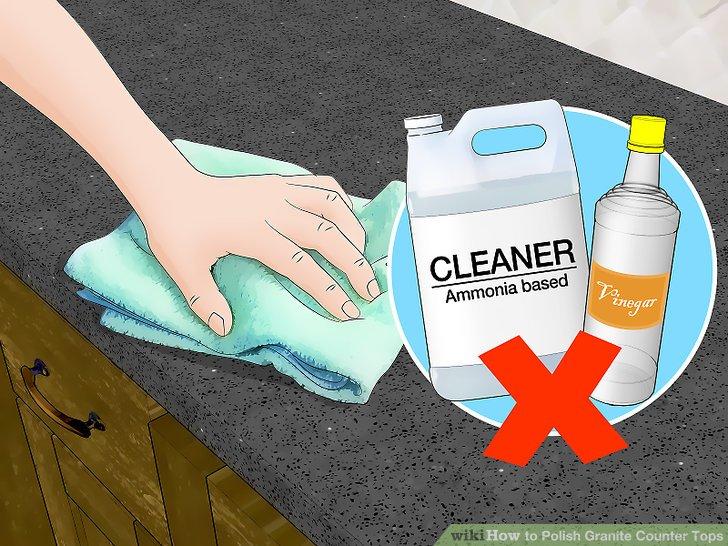 4 Ways To Polish Granite Counter Tops Wikihow
