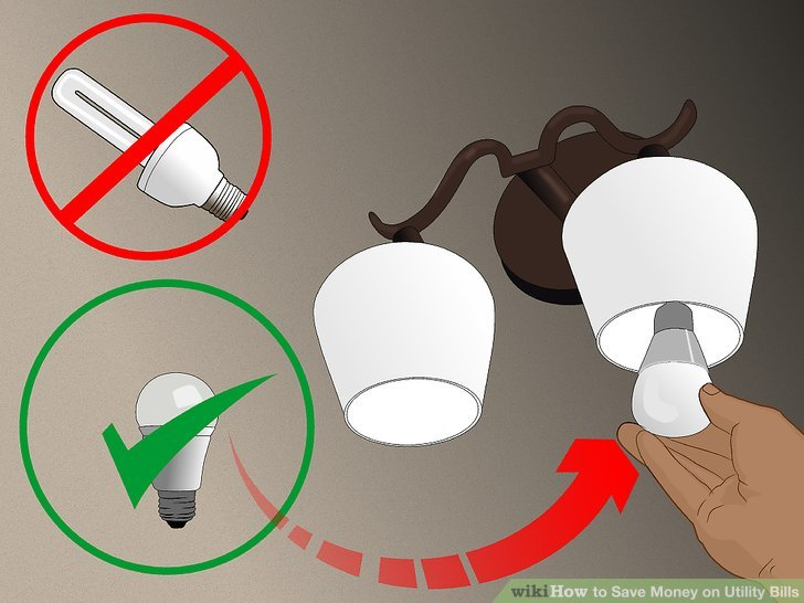 Replace your light bulbs.