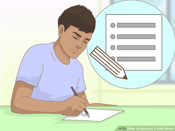 Erstellen Sie eine Liste mit Themen, über die Sie schreiben möchten.