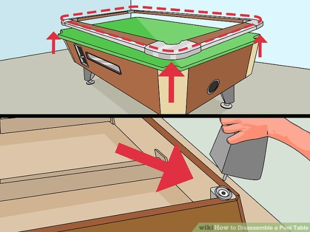 how to disassemble a pool table brokeasshome com