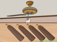 How to Paint a Ceiling Fan: 13 Steps (with Pictures)