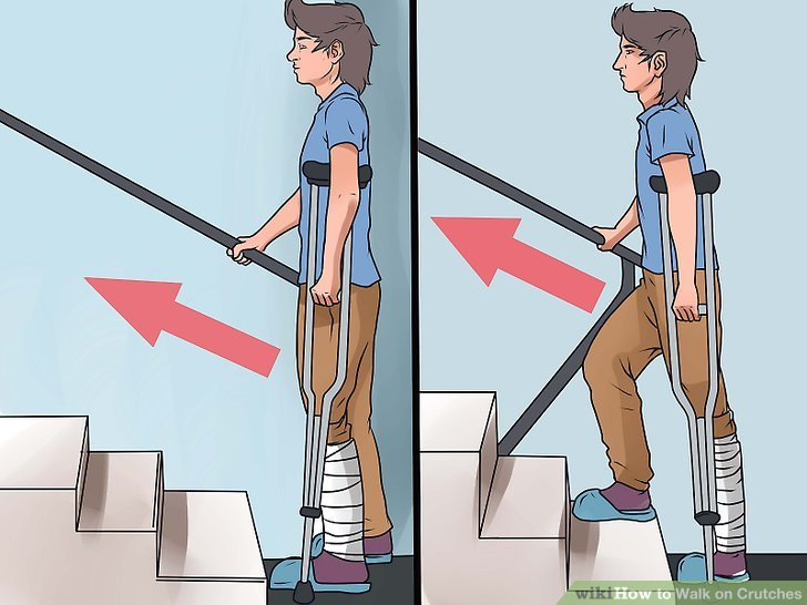 Take any stairs carefully.