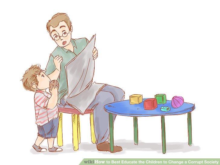 Machen Sie Ihr Kind auf aktuelle Ereignisse aufmerksam.