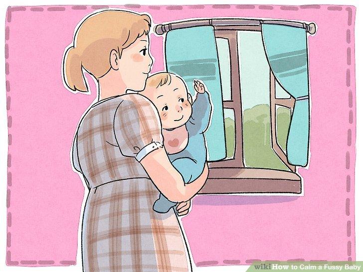 Geben Sie Ihrem Baby einen Szenenwechsel.