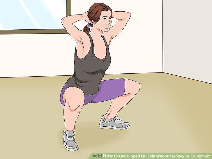Richten Sie Ihre Gesäßmuskeln auf Gesäßbrücken.