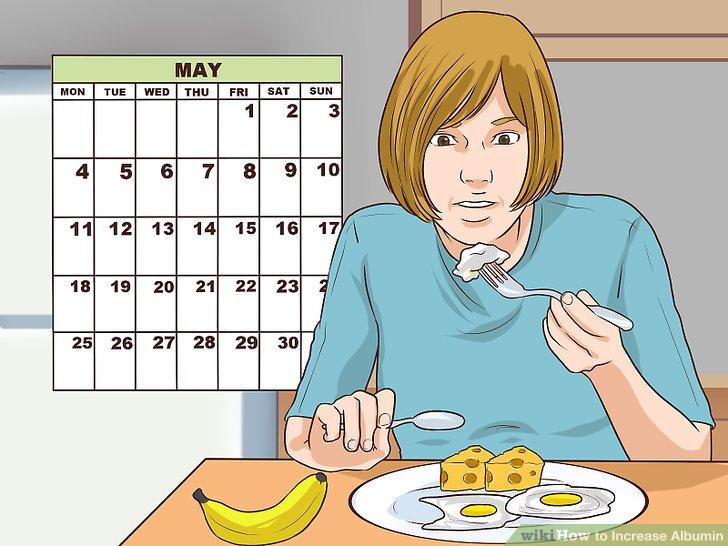 Essen Sie jeden Tag Frühstück.