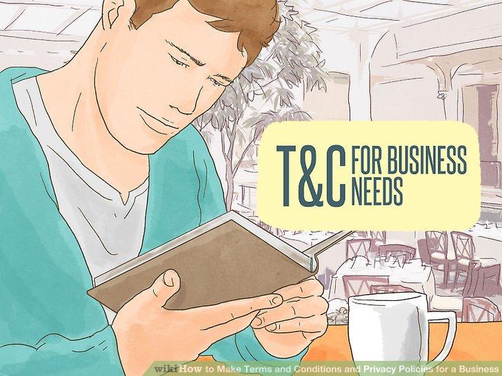 İşletmenizin ihtiyaç duyduğu şart ve koşulların bir listesini yapın.