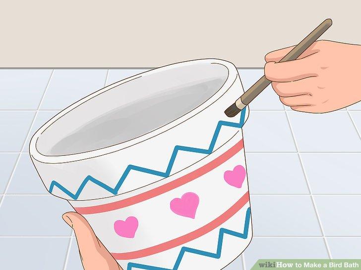 Paint the pots.