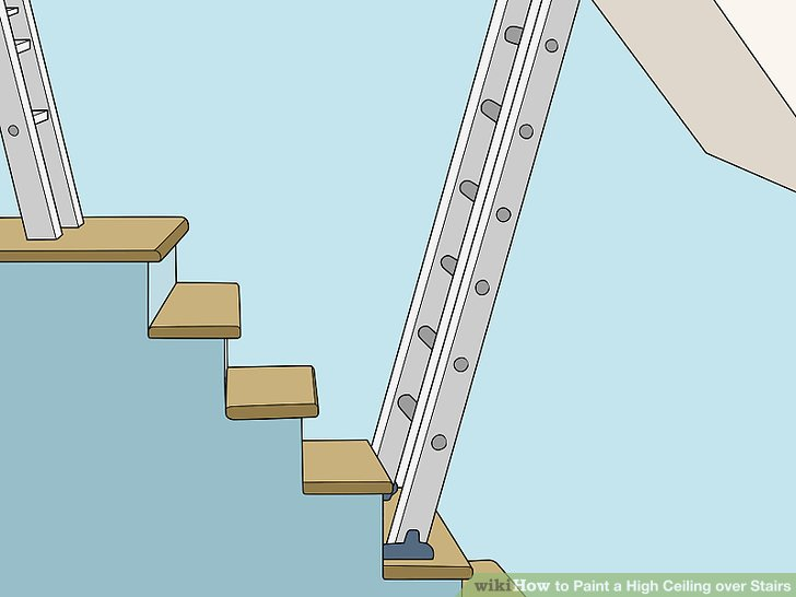 how to cut ceiling paint