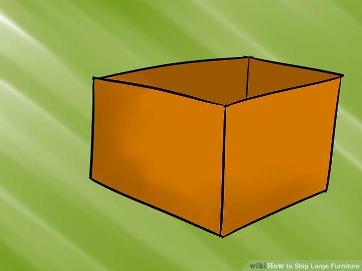 Bauen Sie die Seiten der Box auf.