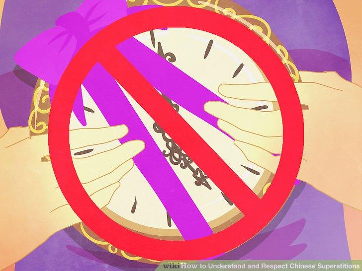 Geben Sie niemandem (insbesondere älteren Menschen) Uhren.