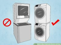 How to Buy a Stackable Washer and Dryer: 10 Steps (with ...