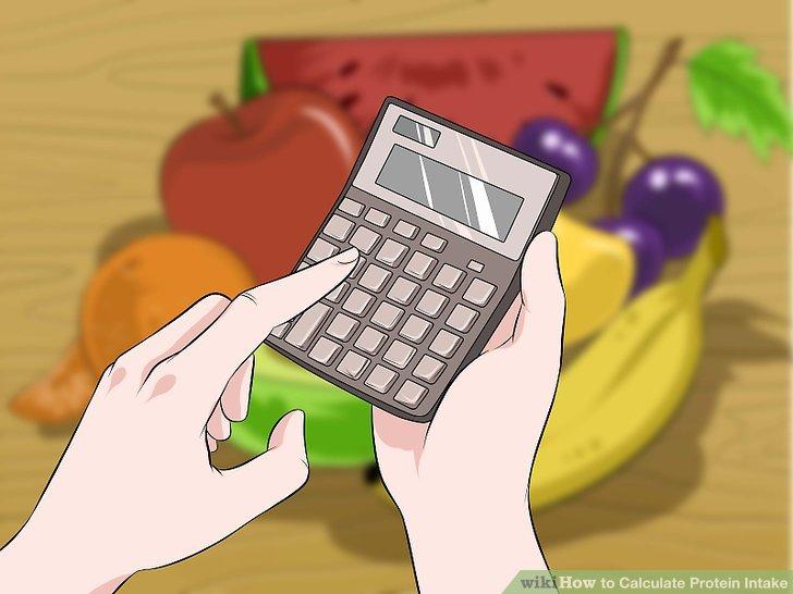 Berechnen Sie Ihre tägliche Proteinzufuhr.