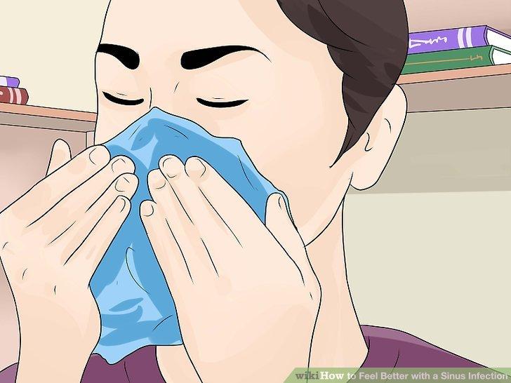 Verwenden Sie sanfte, beruhigende Tücher für eine laufende Nase.