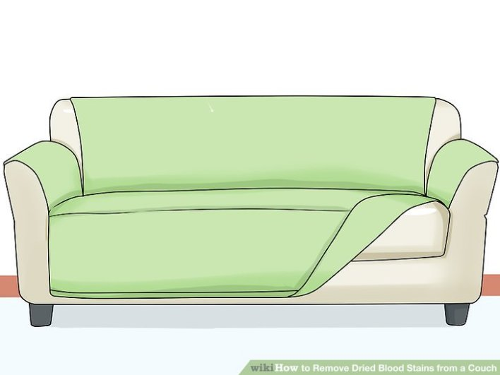 how to remove period stains from couch dry clean