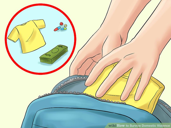 """Packen Sie eine """"Go"""" -Tasche."""