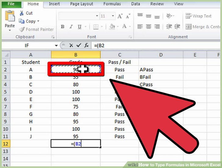 How to Type Formulas in Microsoft Excel: 15 Steps (with Pictures)