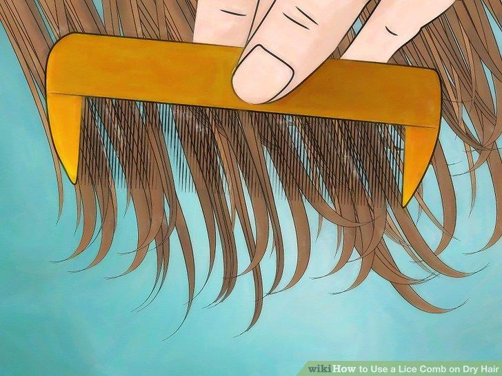 Straighten and untangle hair.