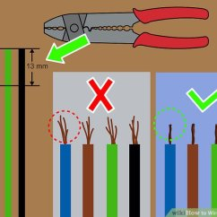 3 Phase 5 Pin Plug Wiring Diagram Uk Baldor Motor L1410t How To Wire A Contactor 8 Steps With Pictures Wikihow Image Titled Step
