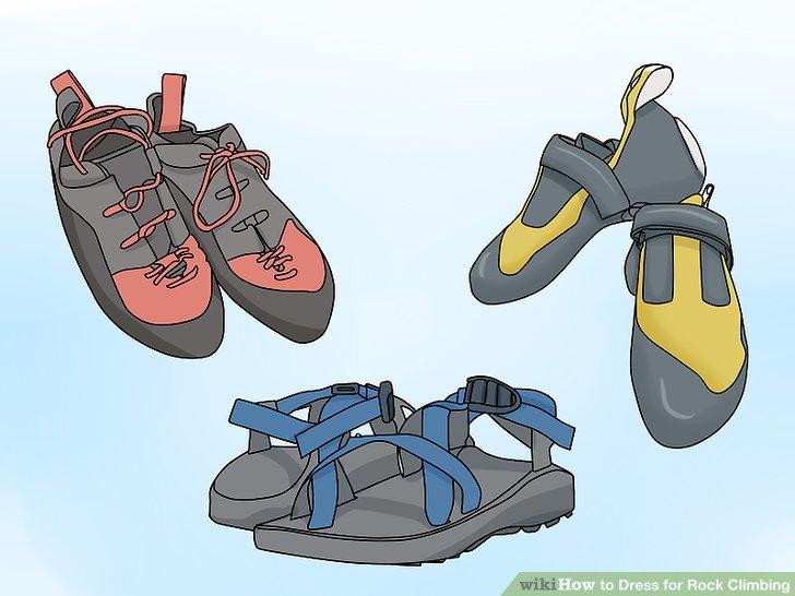 Kletterausrüstung Anfänger Set : Wie ist es gemacht? man sich kleidet für das klettern