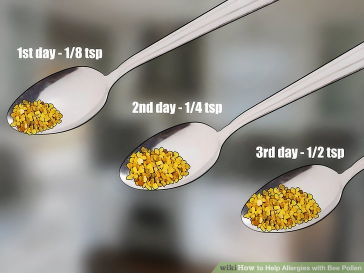 How to Help Allergies with Bee Pollen 14 Steps with