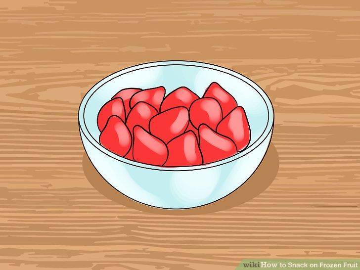 Versuchen Sie gefrorene Beeren.