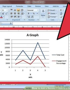 Image titled add  second  axis to graph in microsoft excel step also how steps rh wikihow