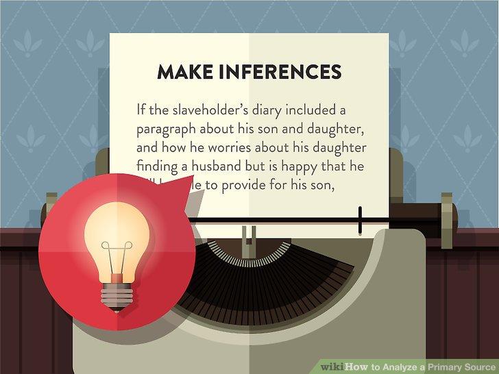 Make inferences.