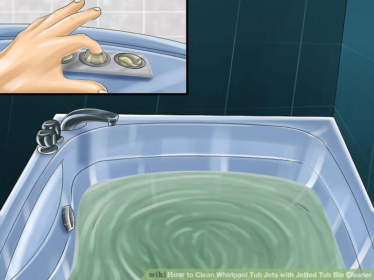 How To Clean Whirlpool Tub Jets With Jetted Tub Bio Cleaner