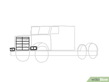 How to Draw a Truck - wikiHow