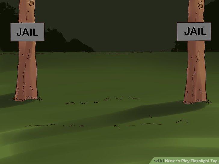 """Bestimmen Sie einen Ort für das """"Gefängnis""""."""