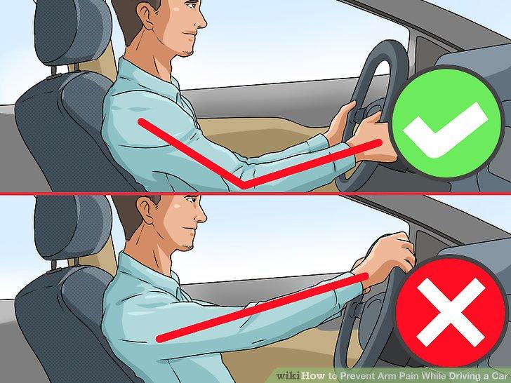 Prevent Arm Pain While Driving a Car Step 2.jpg