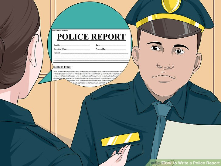 look up police incident report