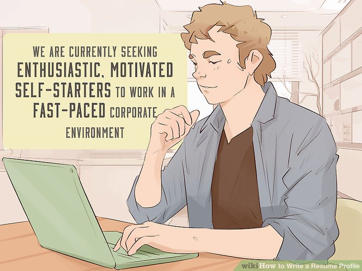 How to Write a Resume Profile: 10 Steps (with Pictures) - wikiHow