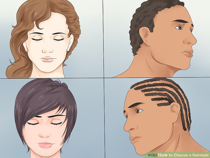 4 Ways to Choose a Hairstyle  wikiHow