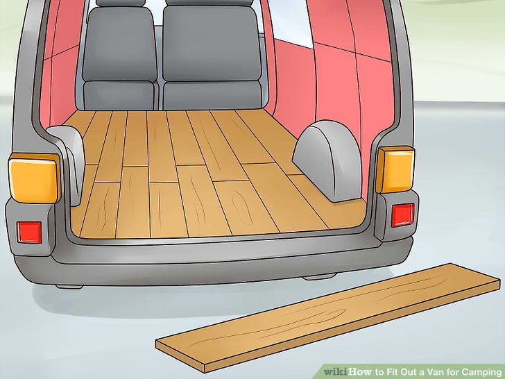 Install a wooden floor to build the rest of your installations on.