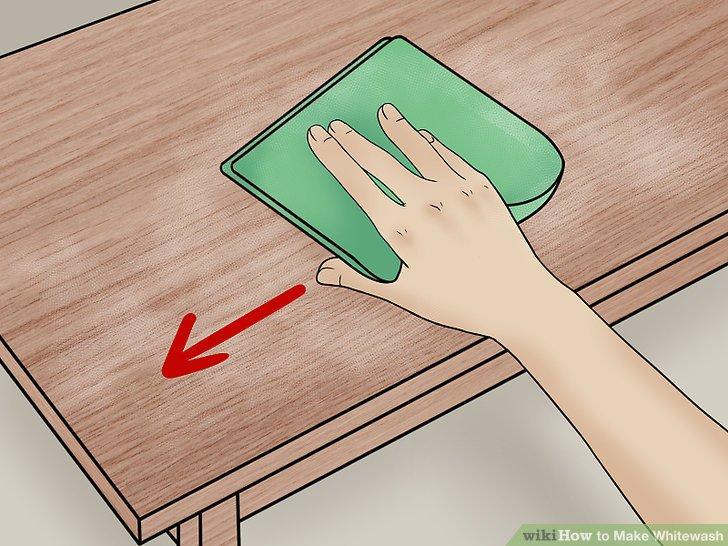 Wischen Sie die Möbel mit einem trockenen Tuch ab.