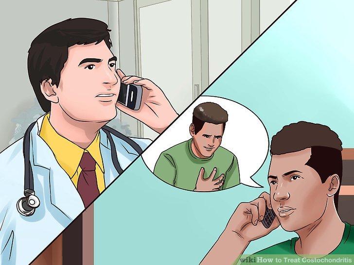 Gehen Sie sofort zum Arzt oder rufen Sie Notfallhelfer an, wenn Sie Schmerzen in der Brust haben.