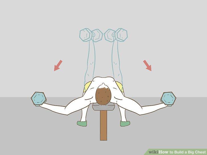 Verwenden Sie Kurzhanteln oder eine Kabelstation zum Fliegen.