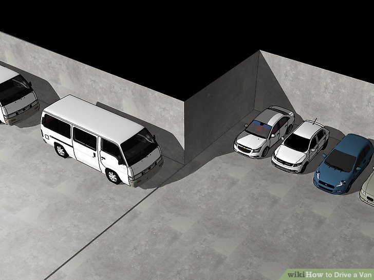 Parken Sie an großen, offenen Stellen und ausgewiesenen Bereichen.
