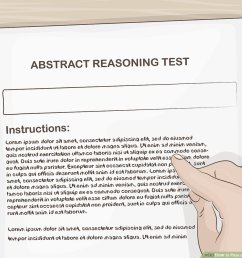 3 Ways to Pass an Abstract Reasoning Test - wikiHow [ 900 x 1200 Pixel ]