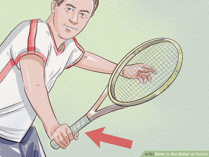 Halten Sie Ihren Schläger vorsichtig, wenn Ihr Schwung steif oder langsam ist.