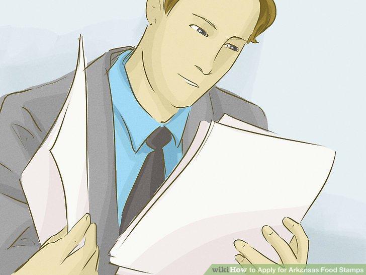 Bereiten Sie die Dokumente und Informationen vor.