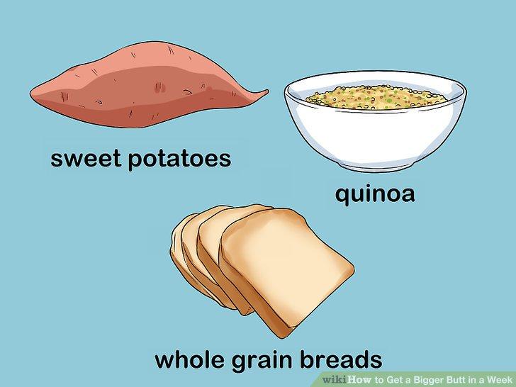Wählen Sie die richtige Art von Kohlenhydraten und Fetten.