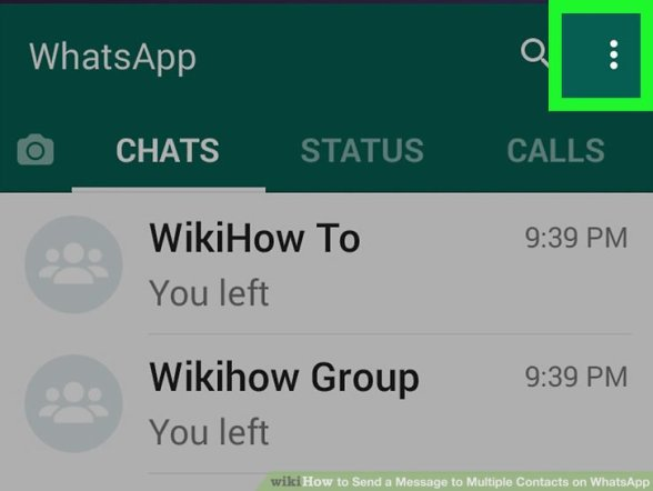 Image titled Send a Message to Multiple Contacts on WhatsApp Step 10